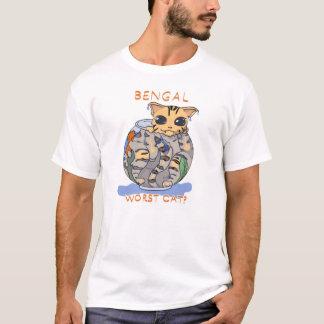 Bengal- worst cat? T-Shirt