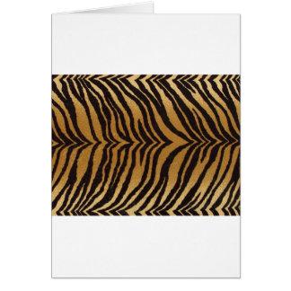 Bengali_Tiger_Fabric.jpg Greeting Card