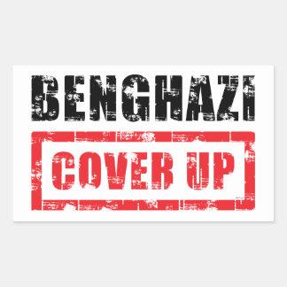 Benghazi Cover Up Rectangular Sticker