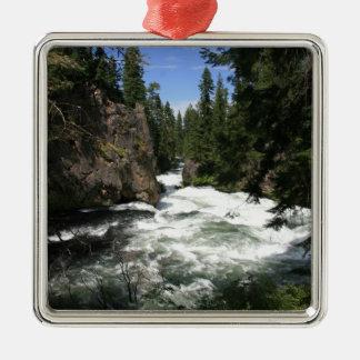 Benham Falls, Sunriver, Oregon Christmas Ornament