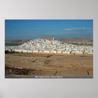 Beni Izguen Oasis Algeria Desert Poster