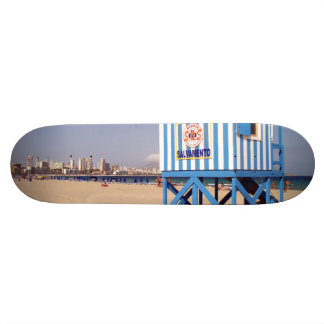 Benidorm, beach of the West 19.7 Cm Skateboard Deck