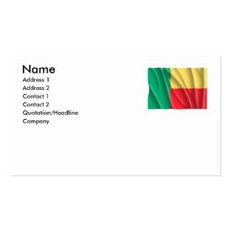 BENIN BUSINESS CARD TEMPLATE