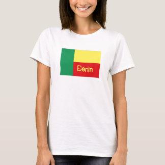 Benin flag souvenir t-shirt