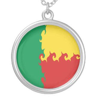 Benin Gnarly Flag Custom Necklace