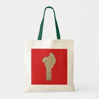 Benin Map Bag