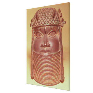 Benin mask canvas print