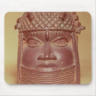 Benin mask mouse mat