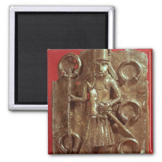 Benin plaque magnet
