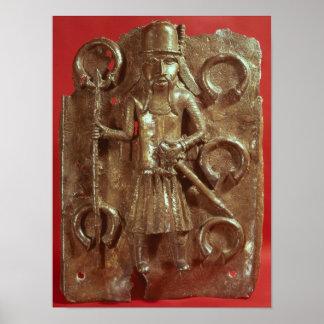 Benin plaque poster