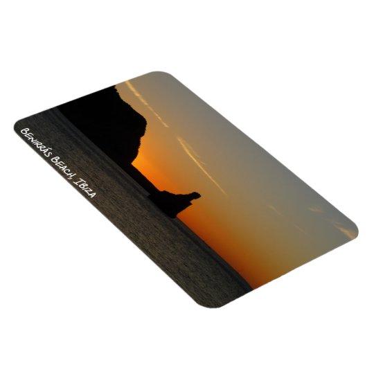 Benirrás Beach Ibiza Sunset Fridge Magnet