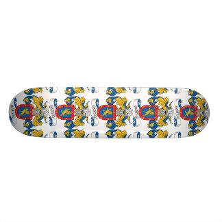Benitez Family Crest Skate Board Deck
