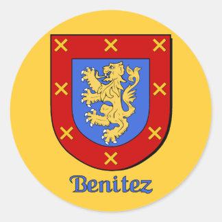 Benitez Family Shield Stickers