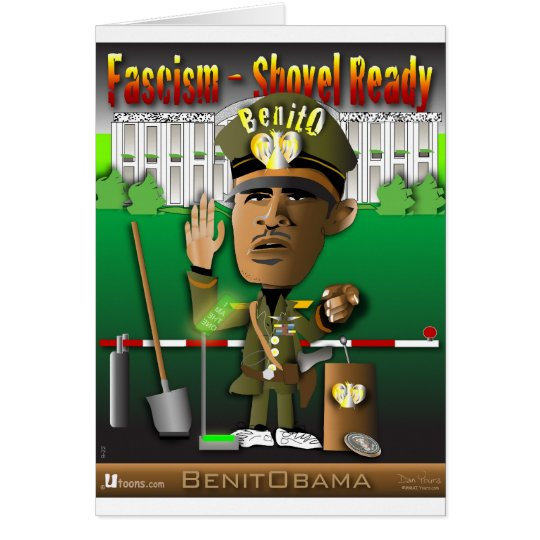 BenitObama Fascism Card