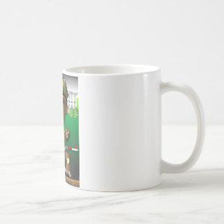 BenitObama Shovel Basic White Mug
