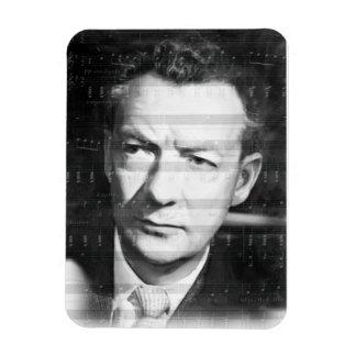 Benjamin Britten-Music to the heart_ Rectangular Photo Magnet