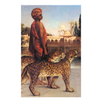 Benjamin Constant Palace Guard with Two Leopards 4 Custom Flyer