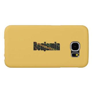 Benjamin Customized Galaxy cover Samsung Galaxy S6 Cases