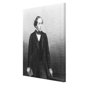 Benjamin Disraeli Canvas Print