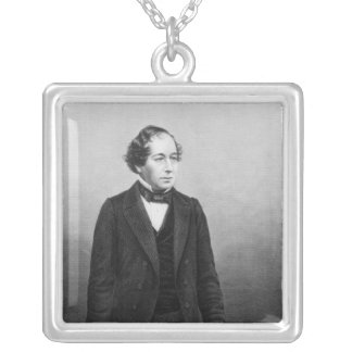 Benjamin Disraeli Silver Plated Necklace