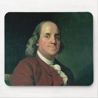 Benjamin Franklin, 1782 Mouse Pads