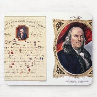 Benjamin Franklin  1847 Mouse Pad