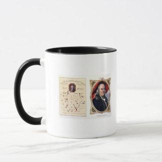 Benjamin Franklin  1847 Mug