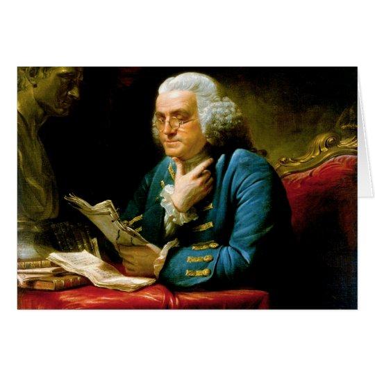 Benjamin Franklin by David Martin Card