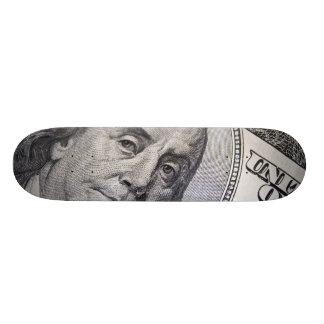 Benjamin Franklin Face Skate Decks