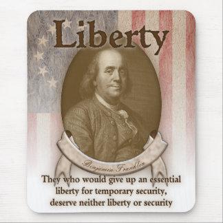 Benjamin Franklin – Liberty Mouse Pad