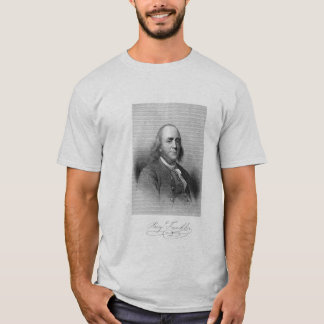 Benjamin Franklin on Liberty T-Shirt