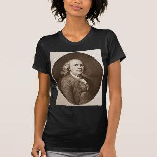 Benjamin Franklin - Vintage Magic Lantern Slide T-Shirt