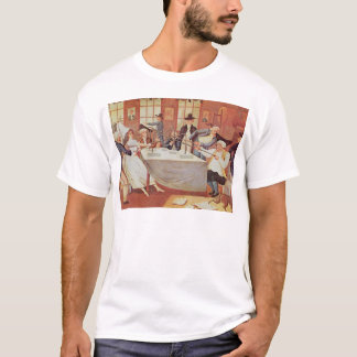 Benjamin Franklin's experiments with electricity T-Shirt