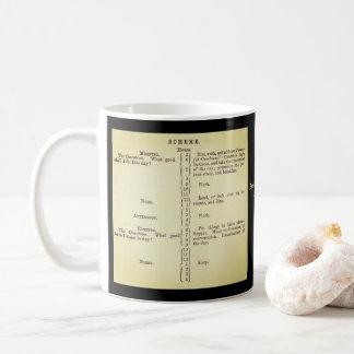 Benjamin Franklin's Schedule Mug