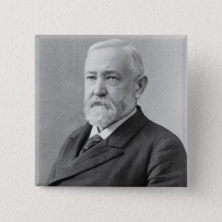Benjamin Harrison 15 Cm Square Badge