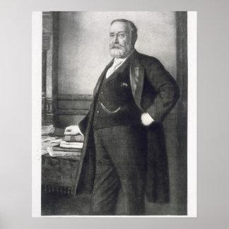 Benjamin Harrison (1833-1901), 23rd President of t Poster