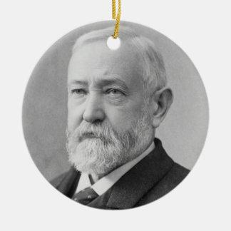Benjamin Harrison 23rd President Christmas Ornament