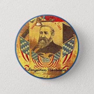 Benjamin Harrison - Button