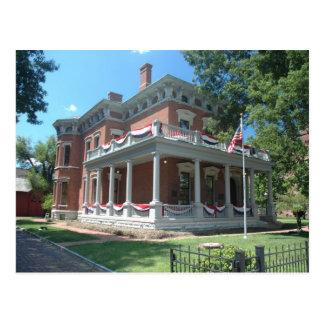 Benjamin Harrison's home Postcard