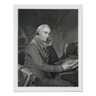 Benjamin Rush, engraved by Richard W. Dodson (1812 Poster