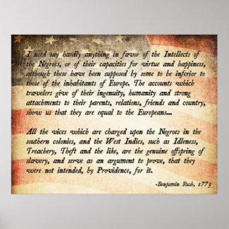 Benjamin Rush Quote Poster