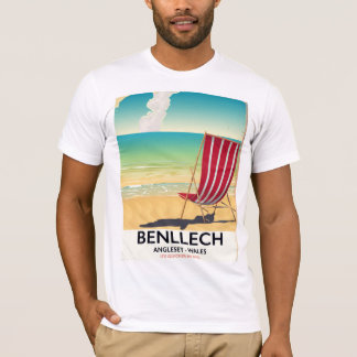 Benllech, Anglesey Wales vintage travel poster T-Shirt