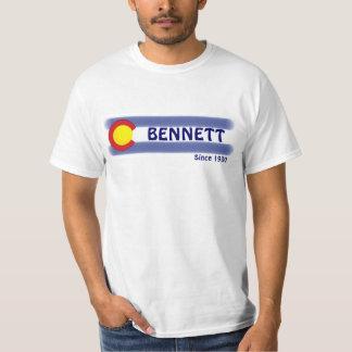 Bennett Colorado local flag value tee