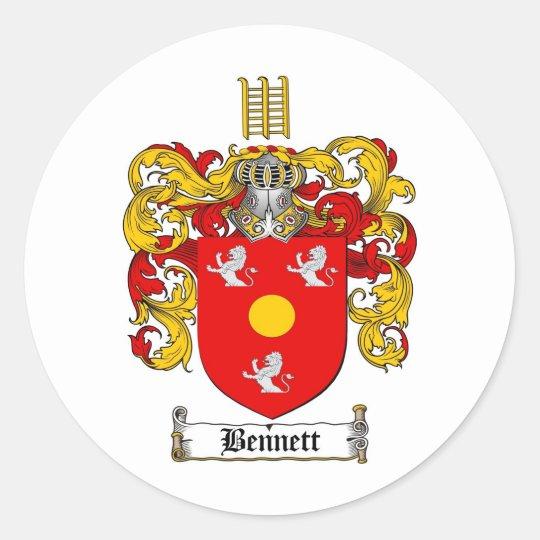 BENNETT FAMILY CREST - BENNETT COAT OF ARMS