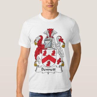 Bennett Family Crest T Shirt