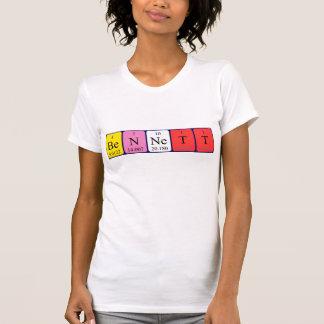Bennett periodic table name shirt