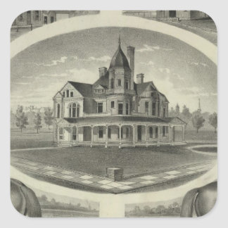 Bennettand Son, Topeka Square Sticker
