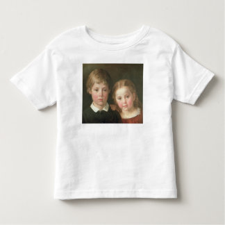 Benno six years and Elna, four years, 1864 Toddler T-Shirt