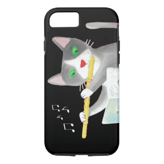 Benny the flute player cat iPhone 8/7 case