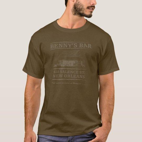 BENNY'S BAR, NEW ORLEANS T-Shirt
